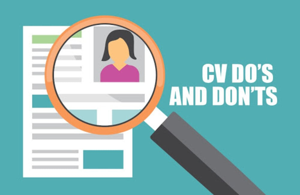 dos and donts of cv-right cv format-professional cv format-how to write effective cv-how to get your cv notice-bilal ashraf-bilalsays-cv skills-job tips