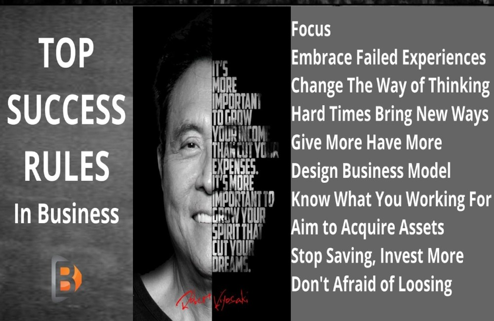 robert kiyosaki-how to become rich-how to do successful business-rich dad poor dad-self help- bilal ashraf- bilal says