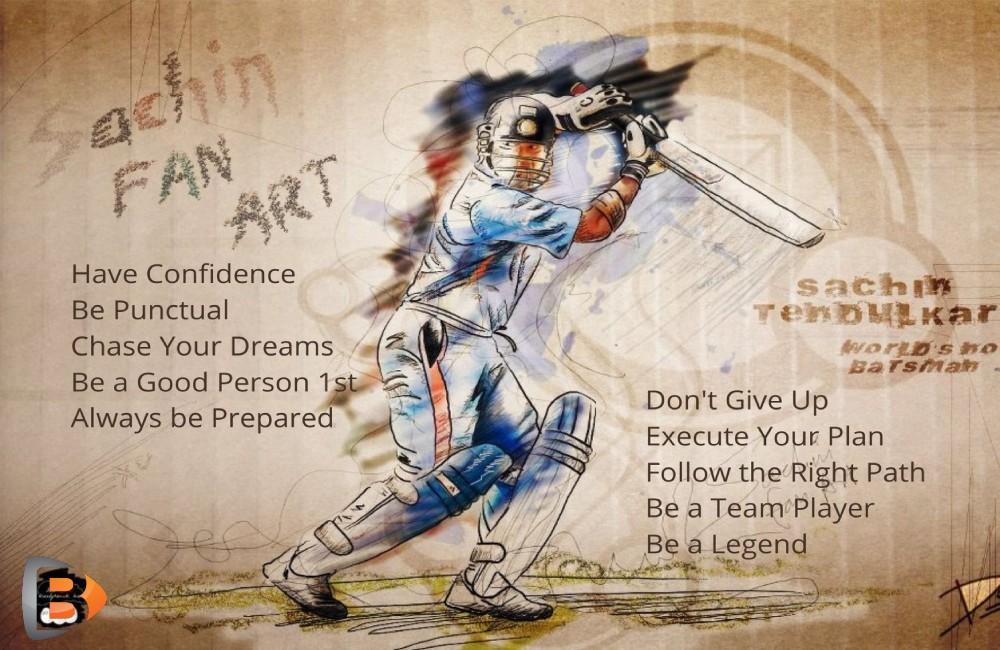 sachine tendulkar-top success rules-what to learn from tendulkar-cricket legend-highest run scorer