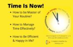 Time Is Now-time management-how to manage time effectively-168-laura-how to get best out of your daily routine-bilal says