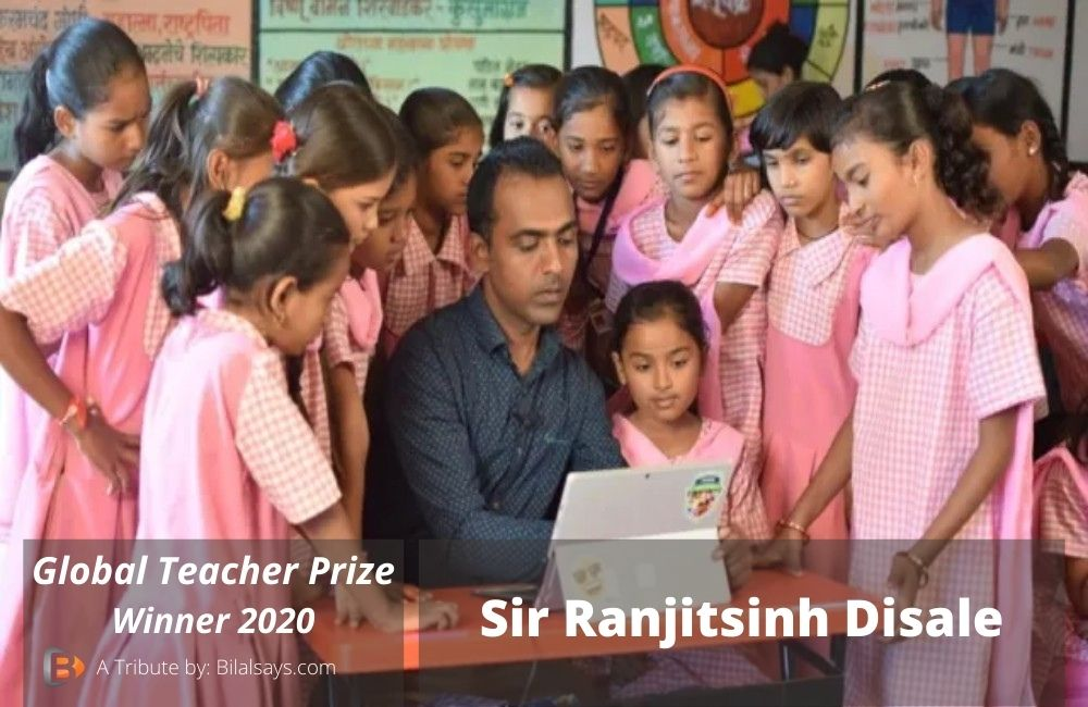 ranjithsinh disale-global teacher prize winner-winnerof2020-indian teacher-best teacher-hardworking teacher