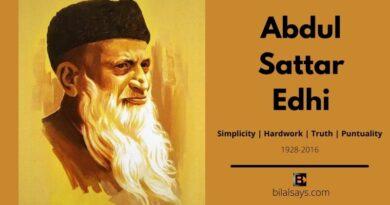 Abdul Sattar Edhi-Edhi Foundation-Philanthopist-Humanitarian-Positive Pakistan-Inspiration-Motivational Posters-Life Blog